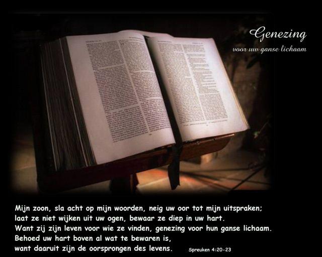 spreuken 4 Jezus geneest   Gods Woord is medicijn spreuken 4